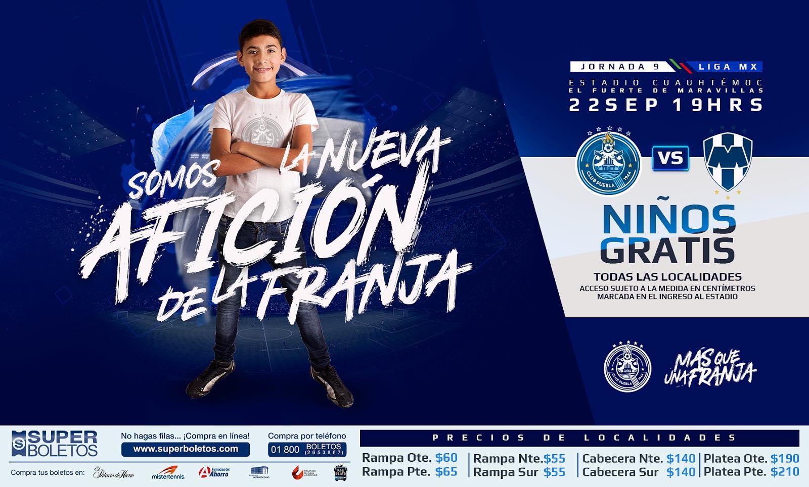 Club Puebla vs Club de Futbol Monterrey Rayados Apertura 2017 fd6bb6792042b
